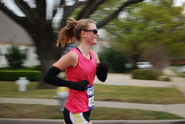 Karyn Nyholm makes fast look easy.